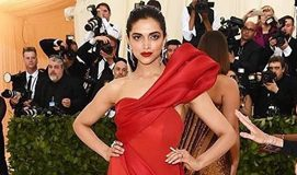 Deepika Padukone's red hot look at Met Gala 2018