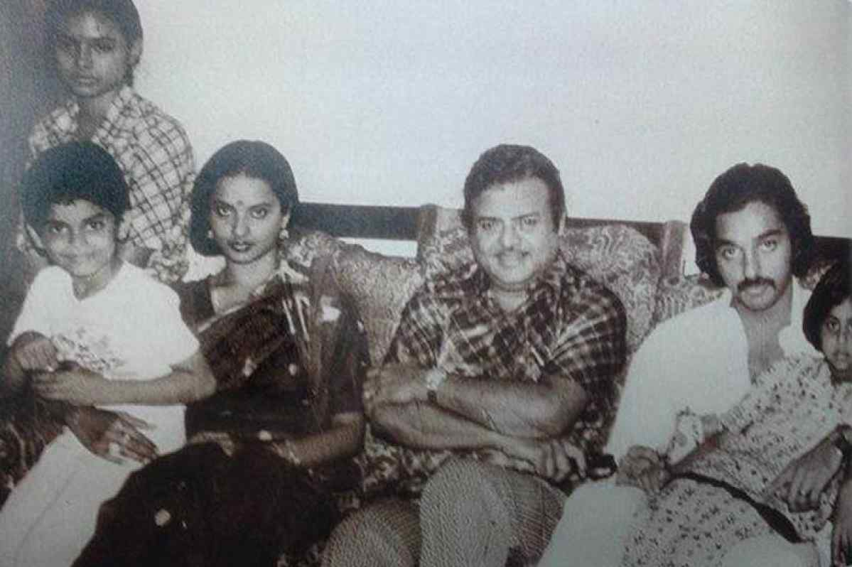 Rekha Is Actor Gemini Ganesan And Actress Pushpavalli S: Gemini Ganesan And Pushpavalli Daughter Rekha Surprising