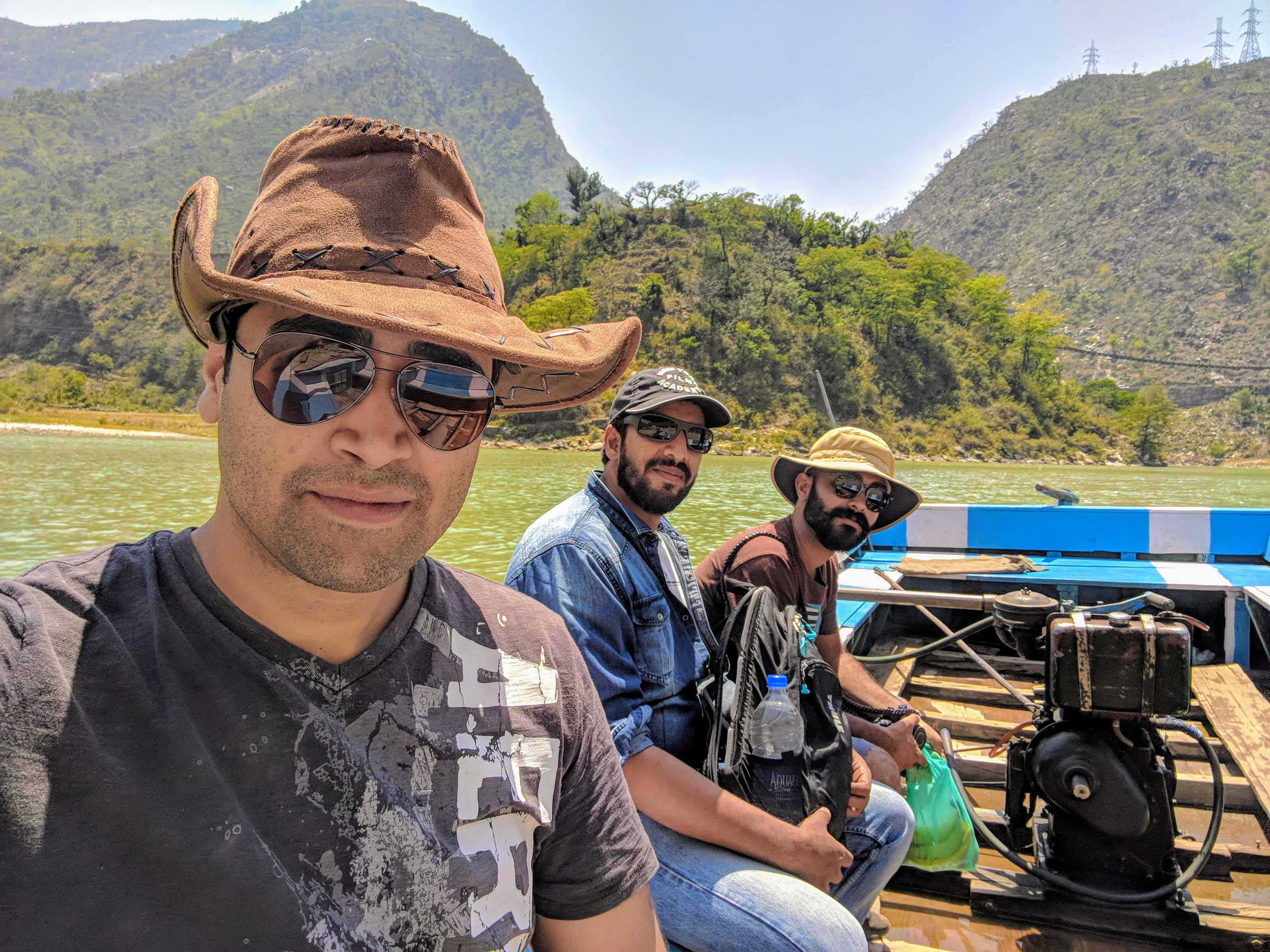 Goodachari shoots near the Himalayas