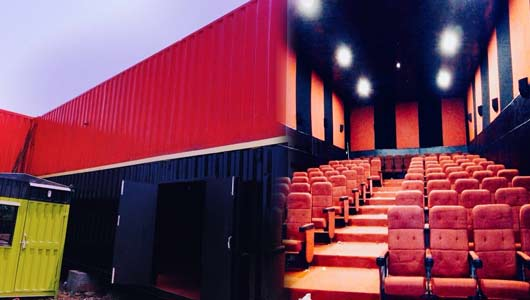 India's first Container Cinema Hall in Devgad Sindhdurg: Sonu Sood best wishes to Nitesh Rane