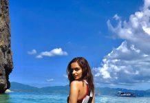 Manushi Chhillar's hot look in swimsuit