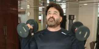 Mohanlal passes fitness challenge to Jr NTR
