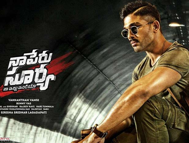 Naa Peru Surya Day 2 AP/TS Box Office Collections