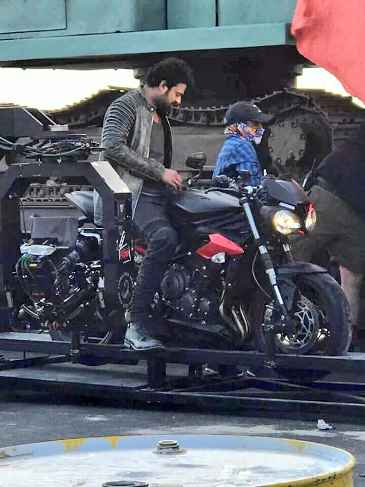 Prabhas's leaked pictures from the Sets of Saaho will make you impatient for the film's release