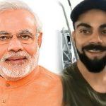 Prime Minister Narendra Modi accepts Virat Kohli fitness Challenge