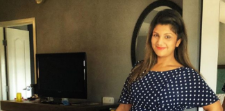 Rambha is pregnant with her third baby! She flaunts her baby bump