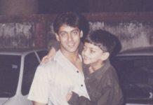 Salman Khan childhood photo going viral