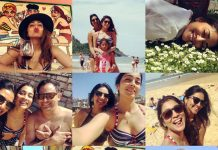 Shriya Saran enjoying vacation in hot bikini avatar