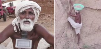 Sitaram Rajput : A 70 yr old Man digs a well single handedly to solve water crisis in his village