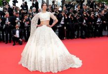 Sonam Kapoor Traffic Stopping Lehenga Look at Cannes 2018 Red Carpet