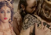Sonarika Bhadoria and Ashish Sharma's steamy lip-lock