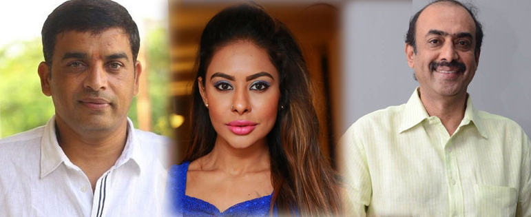Sri Reddy made sensational comments on Dil Raju and Suresh Babu