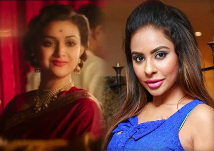 Sri Reddy promoting Mahanati- Savitri biopic in her own style
