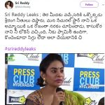 #srireddyleaks: Sri Reddy targets Natural Star Nani again