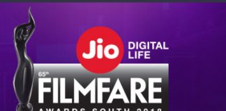 65th Jio Filmfare Awards (South) 2018: List of nominations