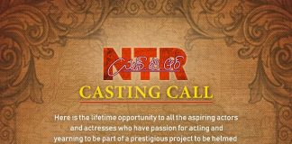 Casting Call For NTR Biopic