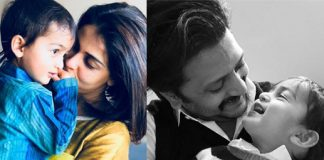 Genelia Deshmukh shares an adorable post on Son Rahyl birthday