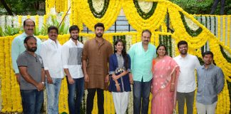 Nirvana Cinemas Production No 1 starring Niharika and Rahul Vijay Launch