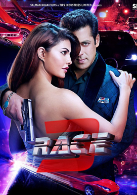 Race 3 2018 Hindi AMZN WEB-DL 720p 1.4GB DD 5.1 ESub MKV