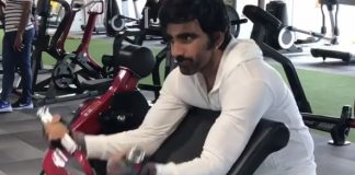 Ravi Teja Gym Workout video viral!