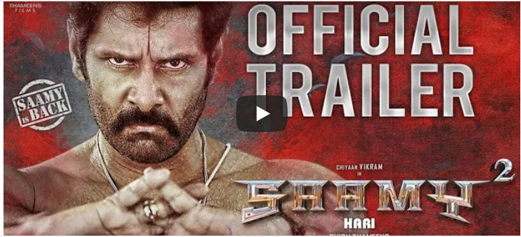 Saamy Square trailer starring Vikram leaves audiences disappointed