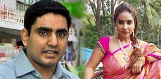 Sri Reddy shocking comments on Nara Lokesh