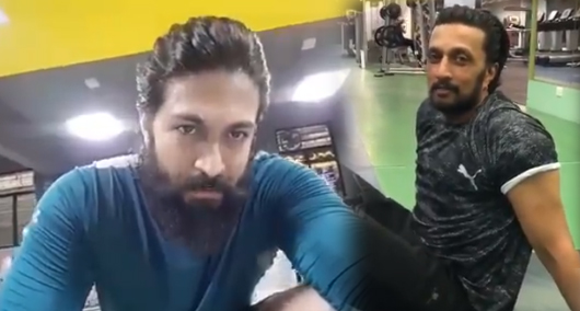 Sudeep fans abused Yash for Fitness Challenge