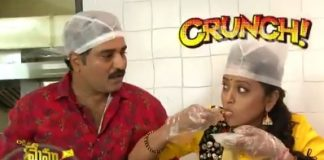 Suma Kanakala and Rajiv Kanakala are selling chaat