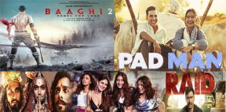Top 5 Bollywood Opening Weekend Grossers in 2018
