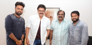 Victory Venkatesh releases song from Aatagadharaa Siva