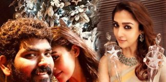 Vignesh Shivn congratulates Nayantara for two awards