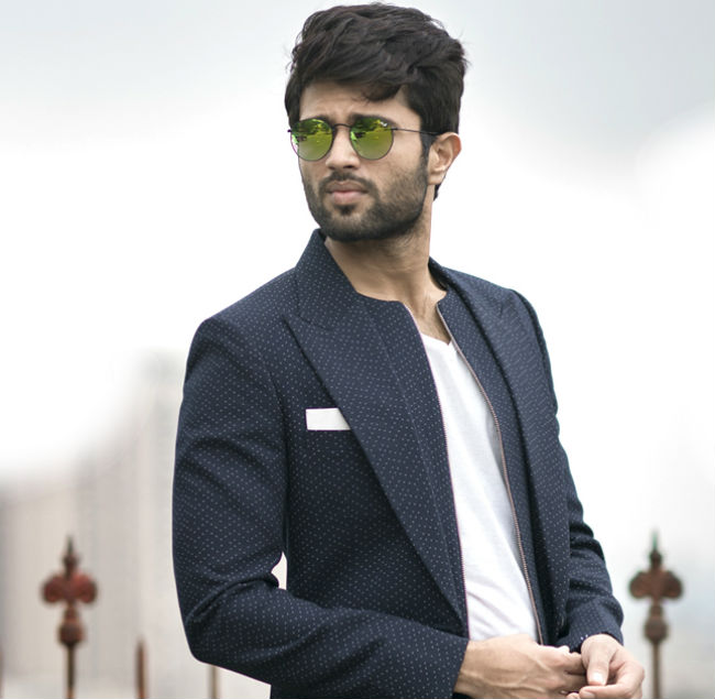 Vijay Deverakonda special talent for music world