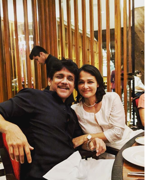 Akhil Akkineni wedding anniversary wish to love birds- Nagarjuna and Amala