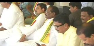 TDP MP CM Ramesh hunger strike enters 4th day
