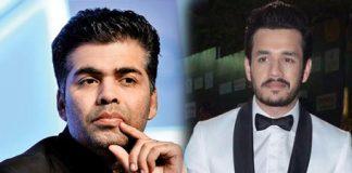 Akhil Akkineni's next with Karan Johar