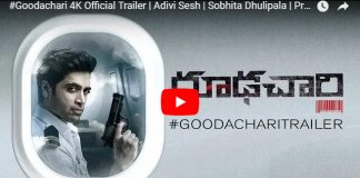 Goodachari Trailer: Promising Action Drama