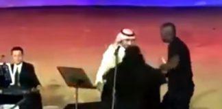 Hug Harassment to Singer in Public