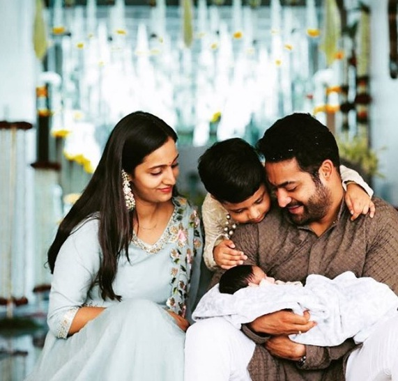 Jr NTR shares adorable family pic and reveals the name of his newborn son