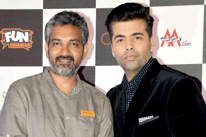Karan Johar to collaborate with Rajamouli for RRR starring Ram Charan and Jr NTR
