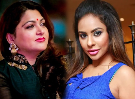 Kushboo Sundar befitting reply to Sri Reddy