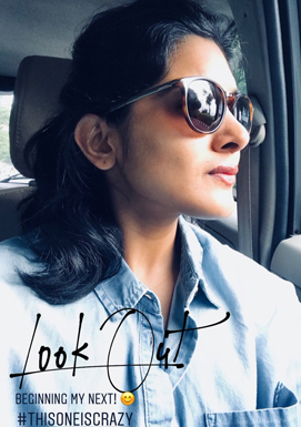 Nivetha Thomas new look for her 6th Telugu project