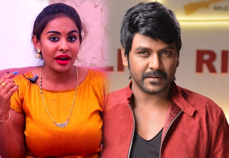 Sri Reddy asks Raghava Lawrence : Should I Place Camera in my V***?