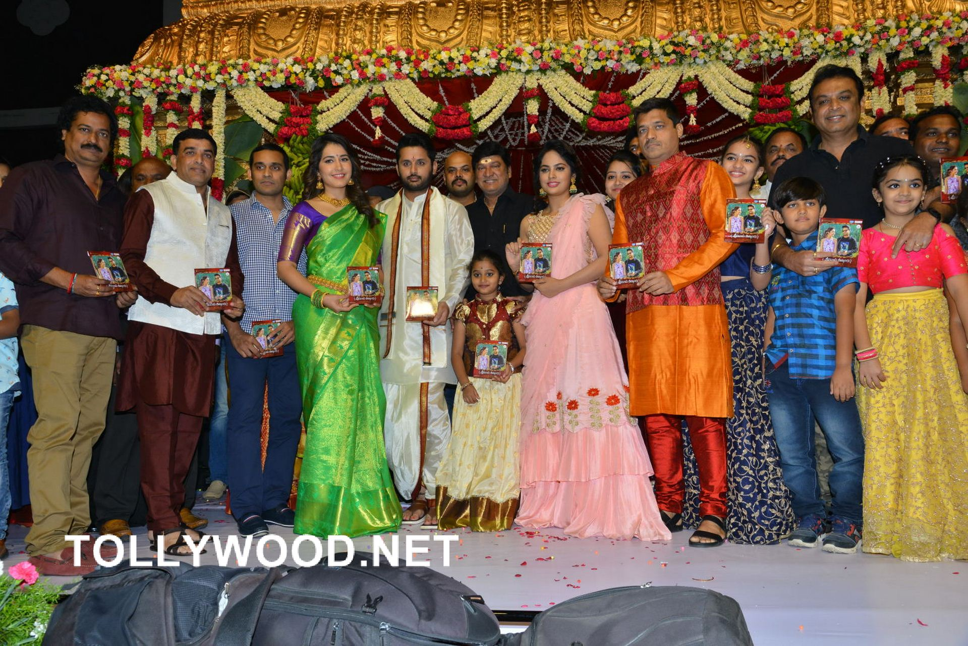 Srinivasa Kalyanam Movie Audio Launch