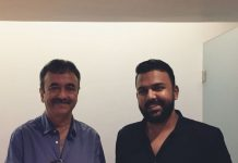 Tharun Bhascker secret meeting with Sanju director Rajkumar Hirani