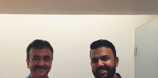 Tharun Bhascker secret meeting with Sanju director Rajkumar Hirani