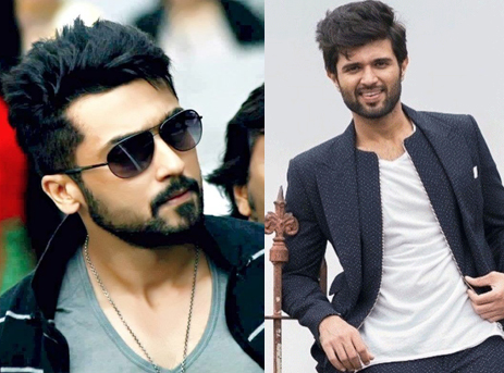 Vijay Deverakonda and Suriya bromance