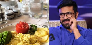 What Ram Charan eats for Breakfast