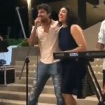 Allu Arjun with Sneha and Nani with Anjana croon songs for public