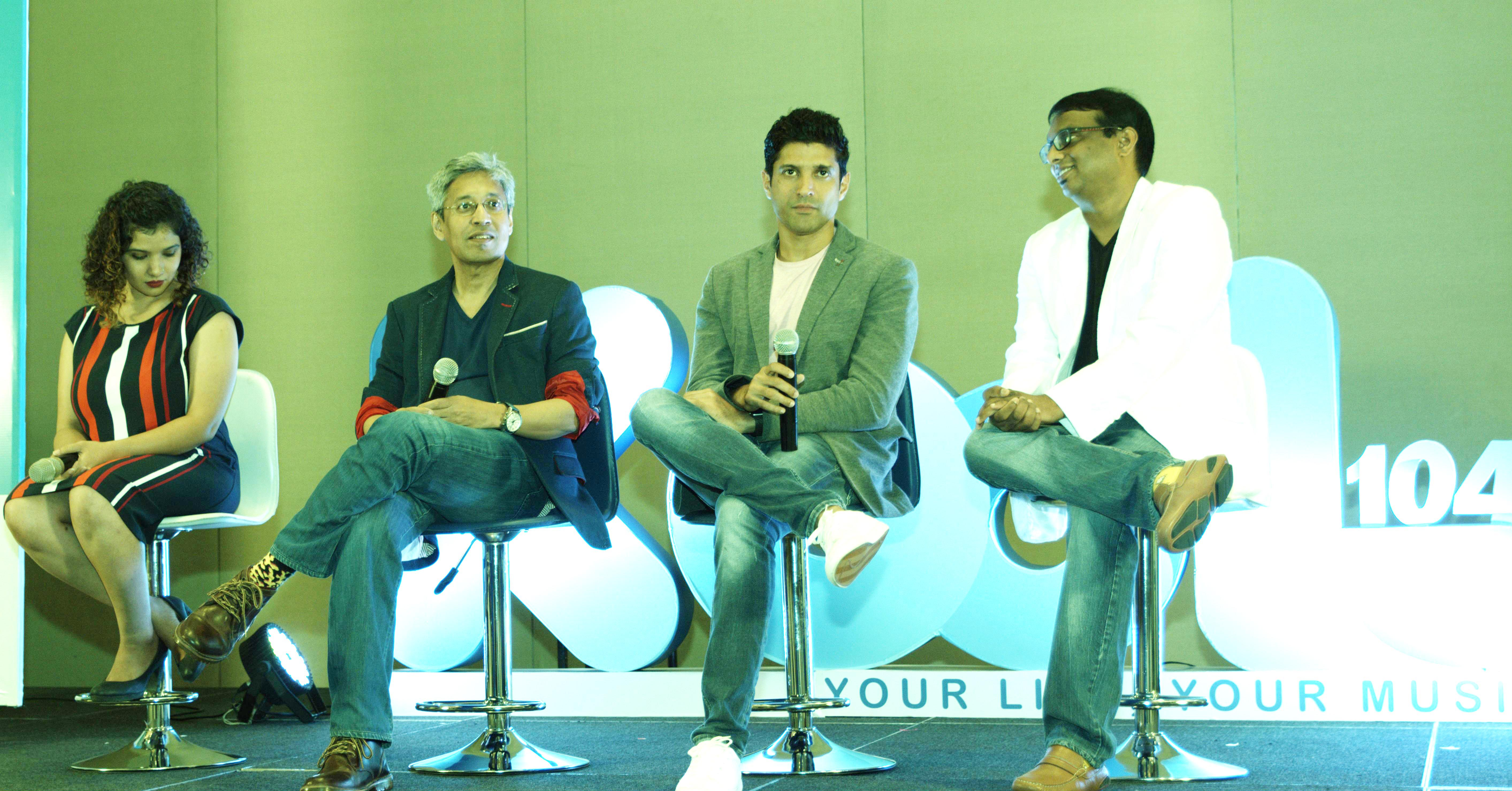 Farhan Akhtar launches Kool 104 Radio Station in Hyderabad!