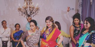 Rambha dances on her baby shower